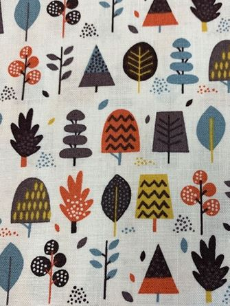 Picture of Makower Fabric 1709