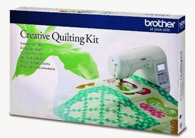 Picture of  Brother Creative Quilting Kit - QKF3UK