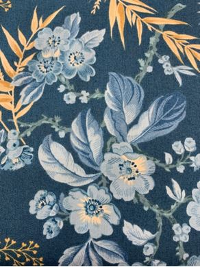 Picture of Floral Blue 8822