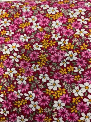 Picture of Floral Tiny Dark Pink 002