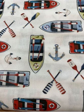 Picture of Boats Fabric #47