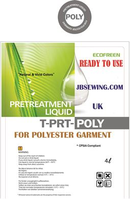 Picture for category DTG Ecofreen Polyester Pretreatment