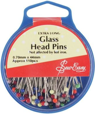 Picture of Glas Head Pins