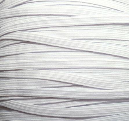 Picture of Elastic 6mm White