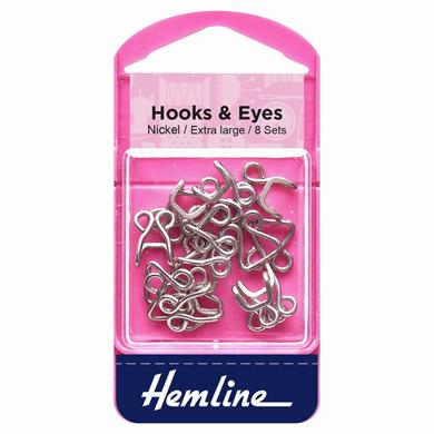 Picture of Hooks & Eyes Extra Large