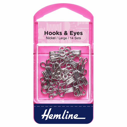 Picture of Hooks & Eyes Large