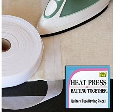 "Picture of Heat Press ""Batting Together"" 1.5 inches x 15 yards"