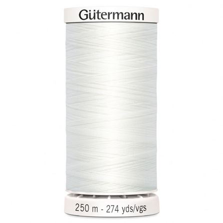 Picture of Gutermann-All Thread: 250m: White (800)