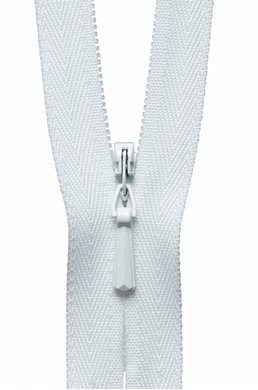 Picture of Concealed Zip: 20cm: White