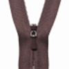 Picture of Concealed Zip: 20cm: Brown 570