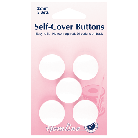 Picture of Self Cover Button 22mm