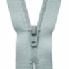 Picture of Nylon Dress and Skirt Zip: 18cm: Pale Grey