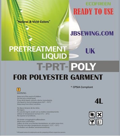 Picture of DTG Polyester Pretreatment  4 L / READY TO USE