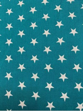 Picture of Turquoise Star fabric SALE Fabric