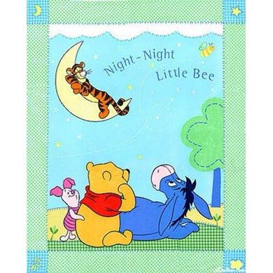 Picture of Disney Winnie the Pooh Panel SALE Fabric