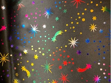 Picture of Rainbow Foil shooting stars