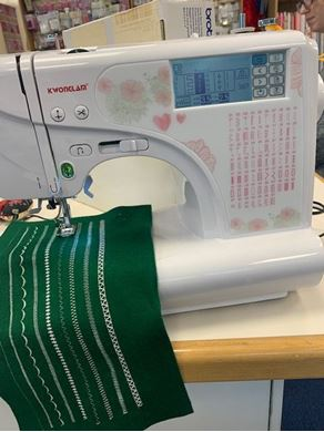 Picture of Sewing Machine Reduced to clear