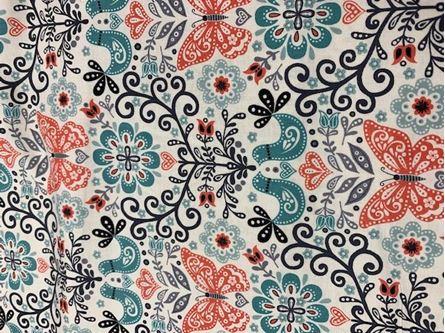 Picture of Makower Papilon 1760 90CM SALE Fabric