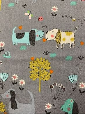 Picture of Makower 2143 dogs SALE Fabric
