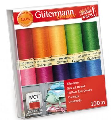 Picture of  Gutermann Sew-all Thread Set 10 X 100m Reels