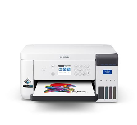 Picture of Epson Sc-F100  A4 Dye Sublimation Printer