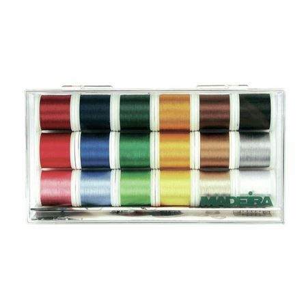 Picture of Madeira 8040 Embroidery Rayon Thread No.40  18 x 200m: Spools