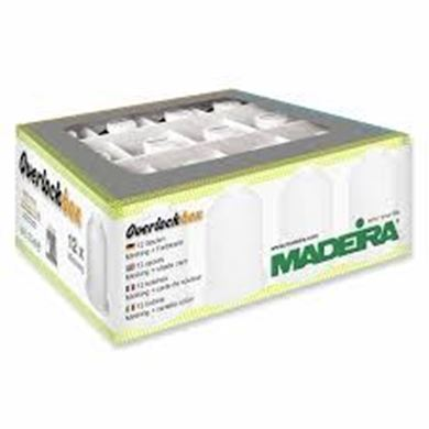 Picture of Madeira Aerolock Thread 12 Set Box Black and White