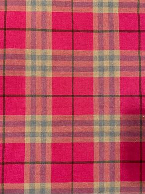 Picture of Pink Tartan Fabric
