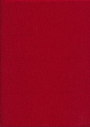 Picture of Rose & Hubble - Rainbow Craft Cotton Plain Crimson 33