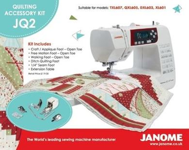 Picture of Janome Quilting Accessory Kit JQ2