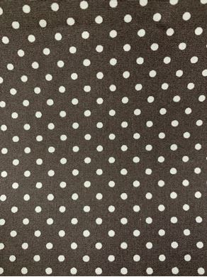Picture of Rose & Hubble White Spot on Brown Fabric