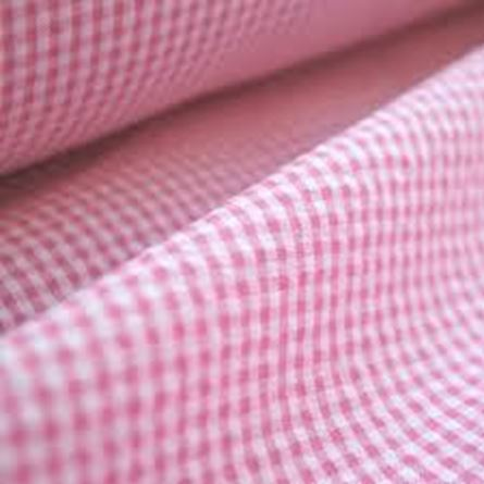 Picture of SEERSUCKER – PINK AND WHITE GINGHAM