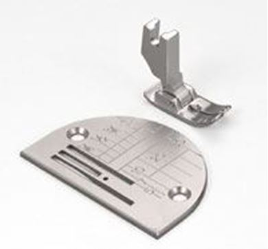 Picture of Janome 1600P / HD9 Straight Stitch Foot and Needle Plate