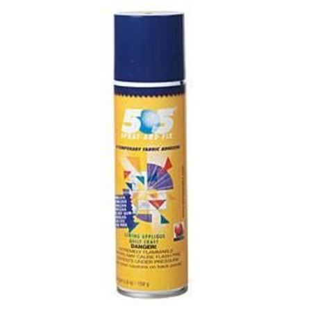 Picture of 505 Spray and Fix Temporary Fabric Adhesive Quilting Glue 250ml