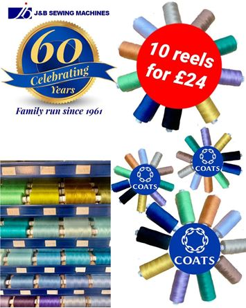 Picture of Coats Astra Thread 60th Anniversary Offer
