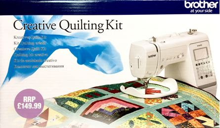 Picture of Copy of  Brother Creative Quilting Kit - QKM2UK