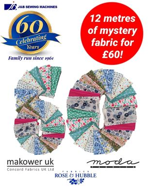 """Picture of A Fabric Bundle """"60th Birthday Offer"""""""