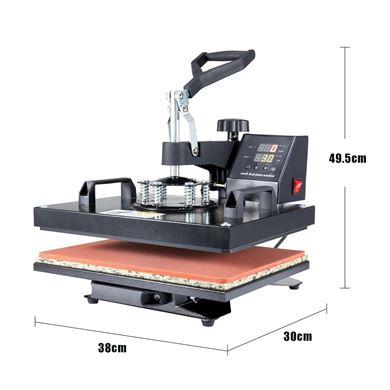 Picture of 5  in 1 Dye Sublimation Heat Press Machine  30×38cm