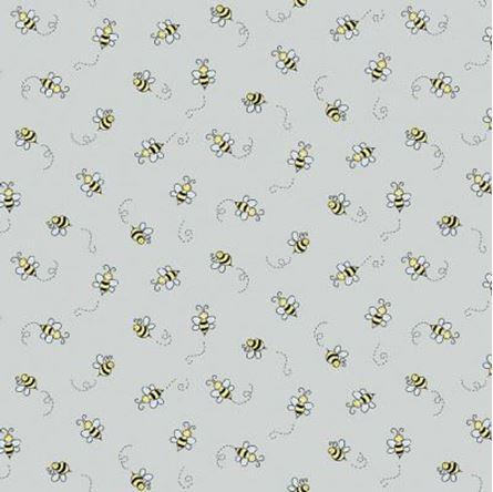 Picture of Andover Bumble Bee Light Grey 9751