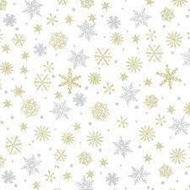 Picture of Christmas Snow Flakes JLX0054 White
