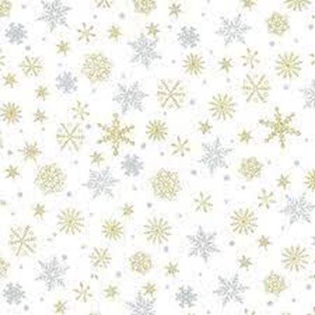 Picture of Christmas Snow Flakes JLX0054 White
