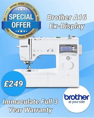 Picture of Brother A16 Sewing Machine Ex-Display