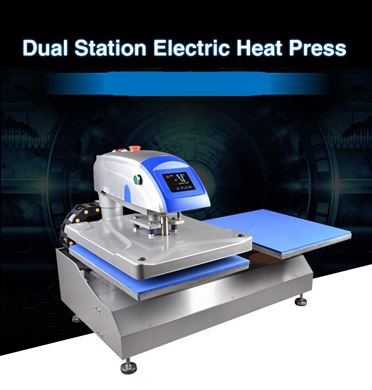 Picture of T Dual Heat Press Fully Automatic Electric 40 X 50/COMING SOON