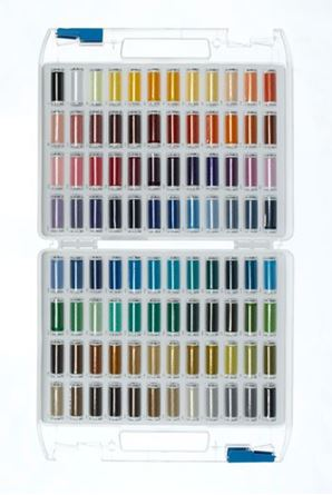 Picture of Mettler Thread Gift Case 96 spools