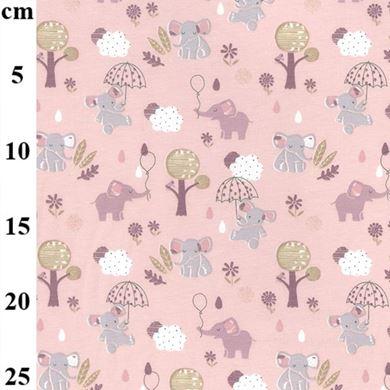 Picture of Elephants Dusty Pink KC1593 012D