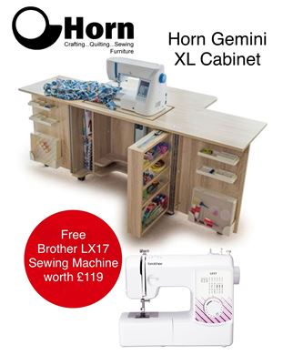 Picture of GEMINI XL Free Brother LX 17 Sewing Machine