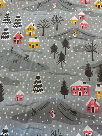 Picture of Christmas Poly-Cotton