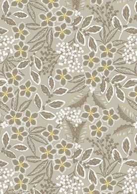 Picture of Lewis & Irene - Noel C66.1 natural noel floral with gold metallic